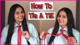 Download How To Tie A Tie | टाई कैसे बांधे, टाई बांधने के आसान तरीके | Tie Kiase Bandhe | Srishti' Diary | Video