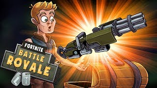 Download Fortnite - NEW UPDATE: Legendary MINIGUN is Overpowered! (Fortnite Battle Royale) Video