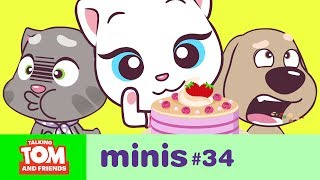 Download Talking Tom and Friends Minis - Angela's Pink Cake (Episode 34) Video