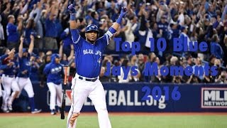 Download Top 10 Blue Jays Moments 2016 Video