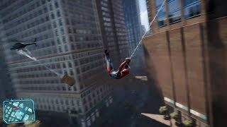 Download Spider-Man PS4 Open World Web Swinging Gameplay! Video