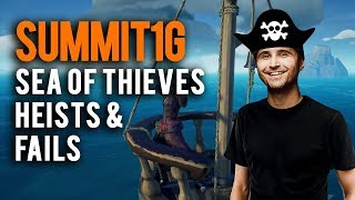 Download Sea of Thieves | Summit1G sneaking onto enemy ships and funny fails compilation Video