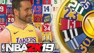 Download WHEEL of NBA JERSEYS! NBA 2K19 Video