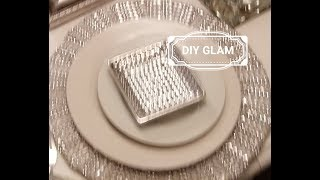 Download DIY : Blinged Out GLAM CHARGER | BONUS TABLESCAPE Video