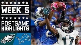 Download Eagles vs. Lions (Week 5)   Game Highlights   NFL Video