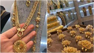 Download احدث اشكال محابس رجبية ذهب تركية وهدايا عيد الام الغالية مجوهرات احمد علاء 2019 Video