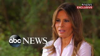 Download Melania Trump says she's one of the most bullied people in the world Video