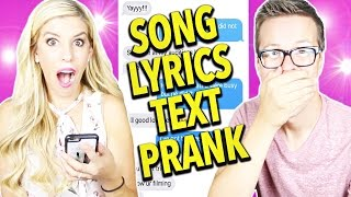 Download SONG LYRIC PRANK! (Justin Timberlake's Can't Stop The Feeling) Video