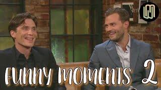 Download Cillian Murphy & Jamie Dornan Funny Moments PART 2 Video