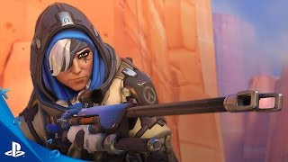 Download Overwatch - Introducing Ana Trailer | PS4 Video