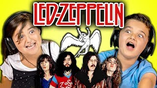 Download KIDS REACT TO LED ZEPPELIN Video