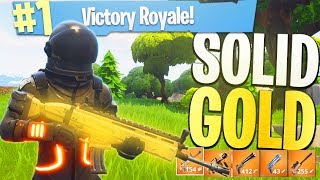 Download Everything's LEGENDARY! - NEW Fortnite Game Mode ″Solid Gold″ (Legendary ONLY Playlist) w/ Ali-A! Video