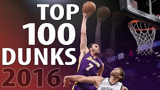 Download Top 100 Dunks of 2016 Video