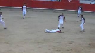 Download Bullfighting acrobat gets worked! Video