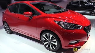 Download 2017 Nissan Micra - Exterior and Interior Walkaround - Debut at 2016 Paris Motor Show Video
