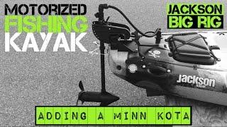 Download Motorized Fishing Kayak- Jackson Big Rig (2015) Video