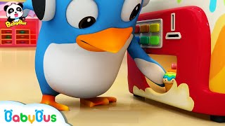 Download What's in Cake Vending Machine? | Ice Cream, Donuts Song, Learn Colors | Kids Songs | BabyBus Video