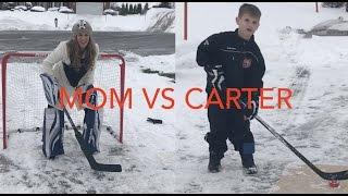 Download KidS Hockey - Hockey Mom as Goalie Video