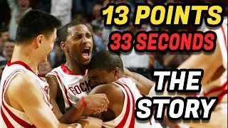 Download The Story Behind Tracy McGrady's 13 Points in 33 Seconds Video