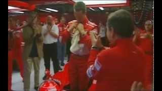 Download Michael Schumacher's last lap with Ferrari Video