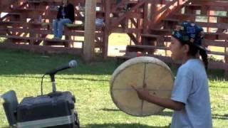 Download 9 Year Old Rocks Hand drum Video