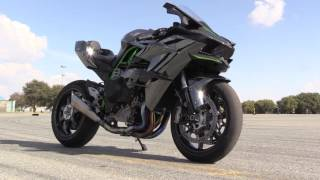 Download Kawasaki H2R Track Test Video