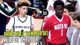 Download Chino Hills vs Bol Bol & Mater Dei!! Overtime Thriller & WILD ENDING In Front of 10,250 People!! Video