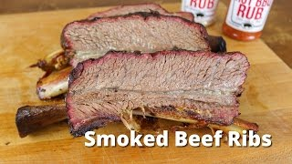 Download Smoked Beef Ribs   Dino Beef Ribs Recipe - Texas Style Video