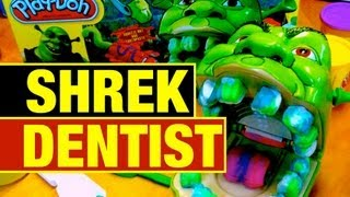 Download Play-Doh Shrek Rotten Root Canal Fail or Win Funny Play Dough Toy Review by Mike Mozart Video