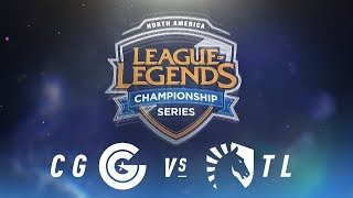 Download CG vs. TL - Week 8 Day 2 | NA LCS Spring Split | Clutch Gaming vs. Team Liquid(2018) Video
