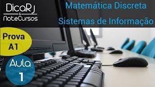 Download Aula 01 - Matemática Discreta - Prova A1 Video