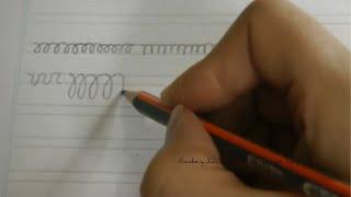Download Caligrafía: Ejercicios para agilizar la mano primera parte Video