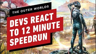 Download The Outer Worlds Developers React to 12 Minute Speedrun Video