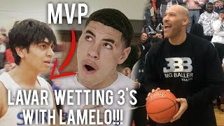Download LaVar WETTING 3s!! LaMelo Ball Flexing and TOYING W/ Defenders! Trip Dub! UnLIkely Hero Emerges!!! Video