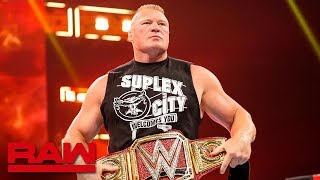 Download Brock Lesnar's SummerSlam opponent to be revealed: Raw, July 15, 2019 Video