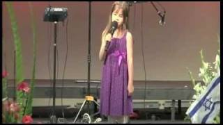 Download 7 Year-Old Sings at Grandfather's Funeral - Wise Beyond Her Years Video