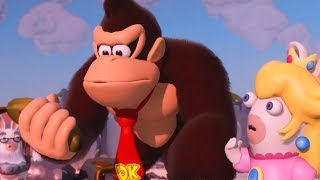 Download Mario + Rabbids: Kingdom Battle - Donkey Kong Adventure - All Cutscenes Video