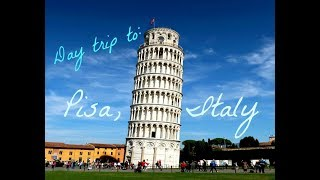Download Pisa, Italy Day Trip from Florence! Travel Tips & Guide Video