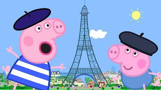 Download Peppa Pig Full Episodes | Peppa Goes to Paris | Cartoons for Children Video
