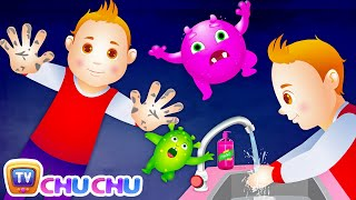Download Wash Your Hands Song for Kids | Good Habits Nursery Rhymes For Children | ChuChu TV Video