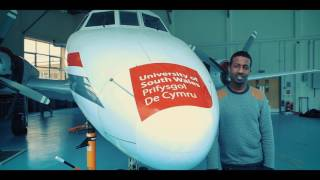 Download Aircraft Maintenance Engineering degree - University of South Wales Video