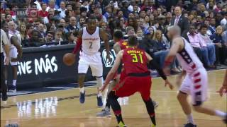 Download Wall (20/14) & Beal (27) Vs Schroder (29/11) & Millsap (21/11) Game 5 Clash in DC | April 26, 2017 Video