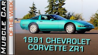 Download 1991 Chevrolet Corvette ZR1 LT5: Muscle Car Of The Week Episode 262 V8TV Video