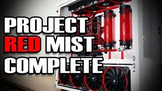 Download Ultimate Gaming PC Build: Red Mist is Complete! Video