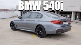 Download BMW 5 Series 540i G30 (ENG) - Test Drive and Review Video