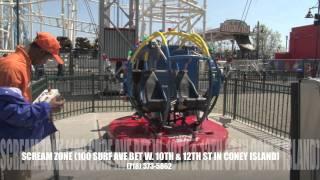 Download Sling Shot Scream Zone Coney Island Video