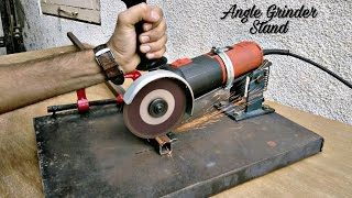 Download Homemade Angle Grinder Stand / Angle Grinder Support.. Video