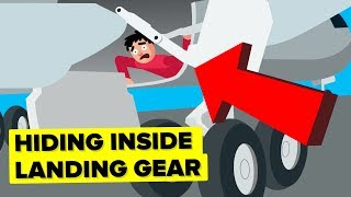 Download What Happens When You Hide in the Landing Gear of a Plane Video