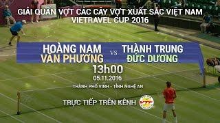 Download HOÀNG NAM/VĂN PHƯƠNG VS THÀNH TRUNG/ĐỨC DƯƠNG - CÁC CÂY VỢT XUẤT SẮC 2016 | FULL Video