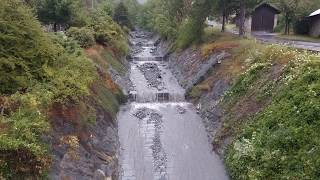 Download debris flow - 21 juillet 2017 - Crue torrentielle à Saint Julien Montdenis Video